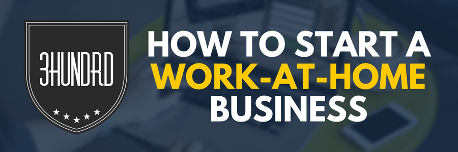 How To Start A Work-At-Home Business pin