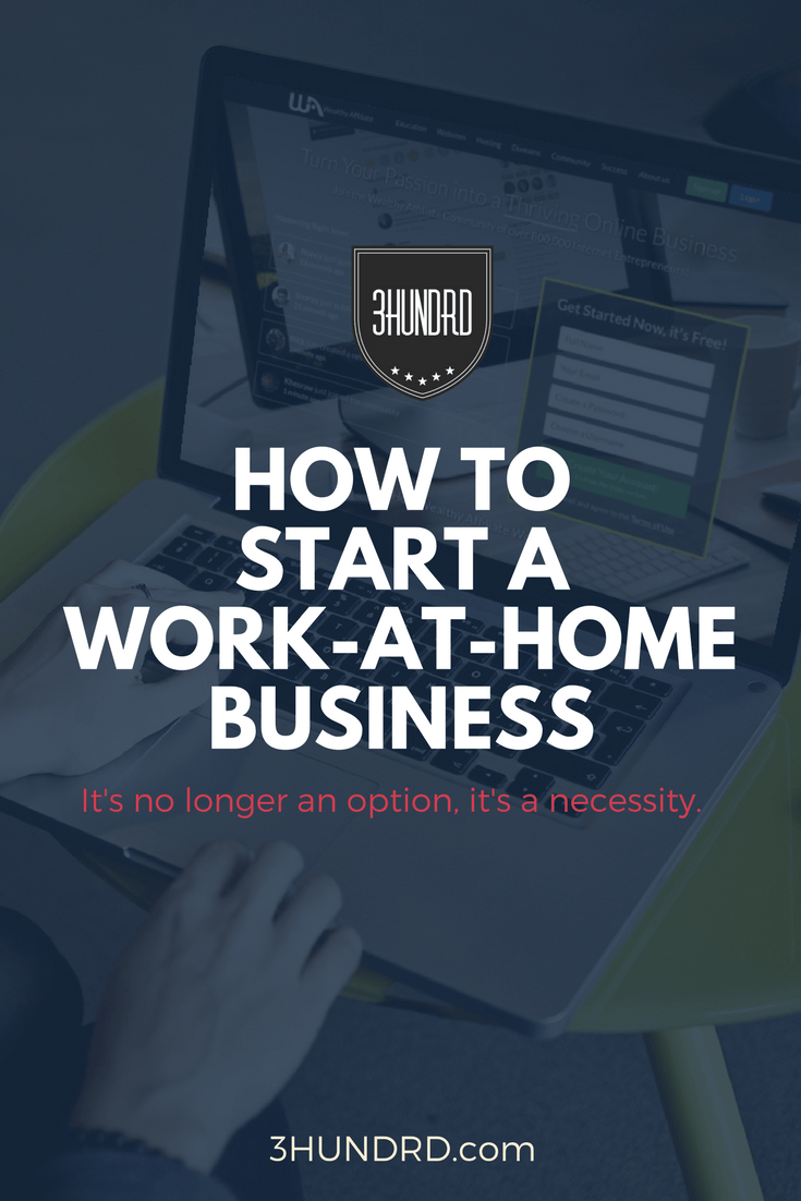 How To Start A Business Working From Home