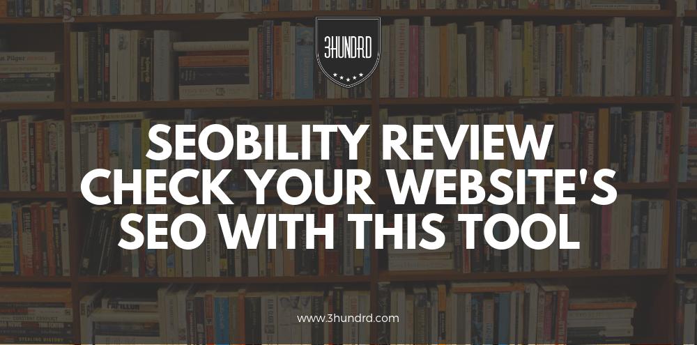 SEObility review