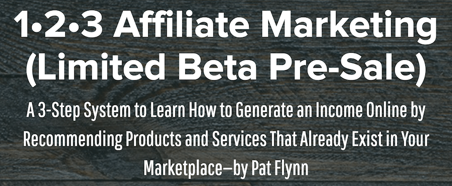 123 Affiliate Marketing Beta