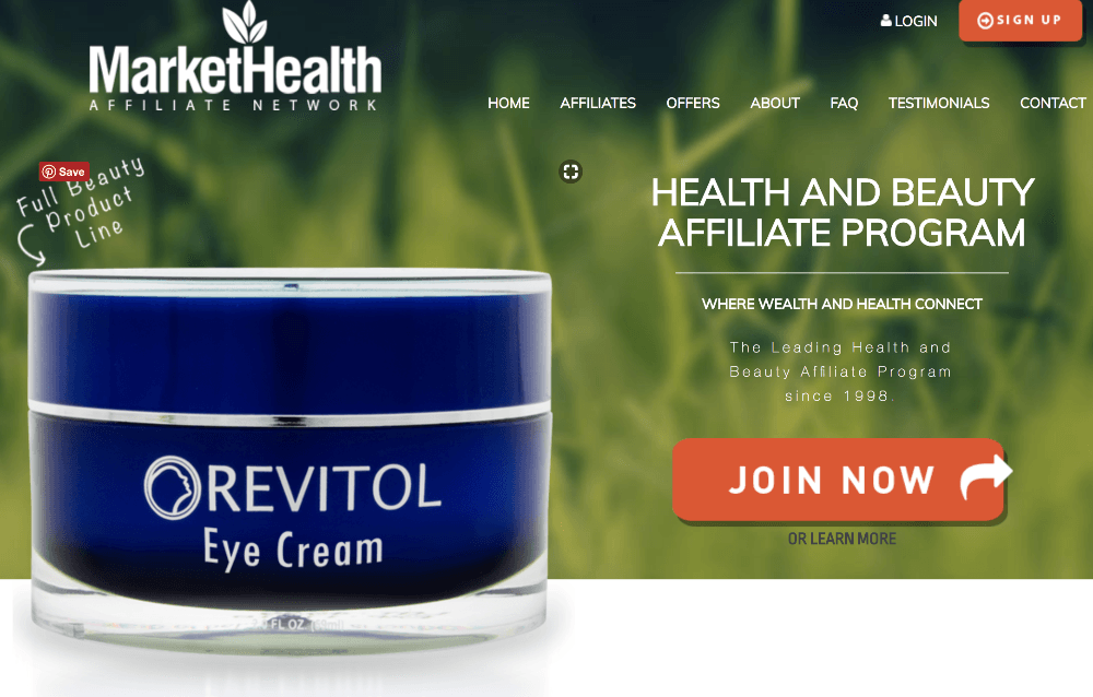 MarketHealth Affiliate Network Review