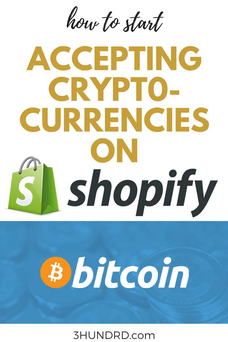 accept bitcoin on shopify