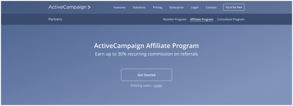 Active Campaign Affiliate Program Review