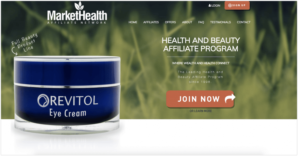 MarketHealth Affiliate Program Review