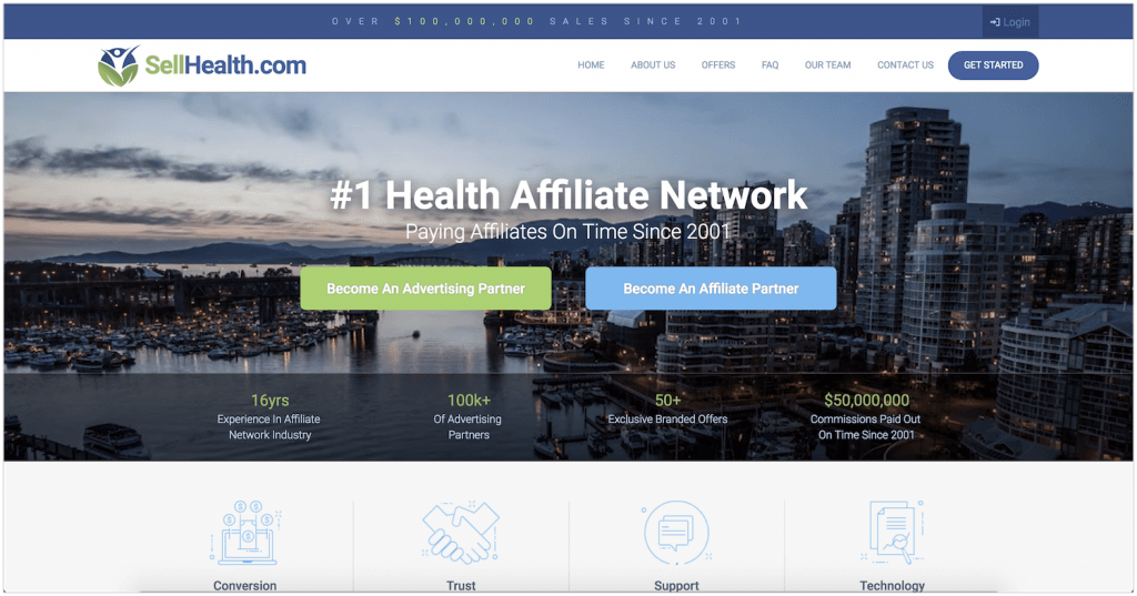 SellHealth Affiliate Program review
