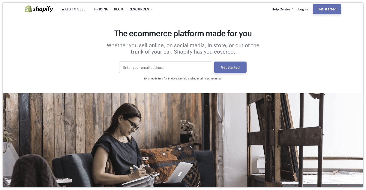 build your drop shipping store with shopify