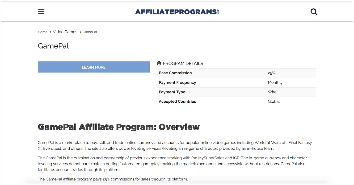 68 Gaming Affiliate Programs You Can Use To Make Money From Video Games