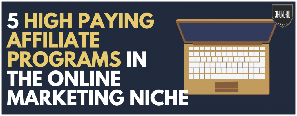 high paying affiliate programs online marketing niche
