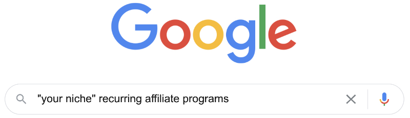 how to find recurring commission affiliate programs