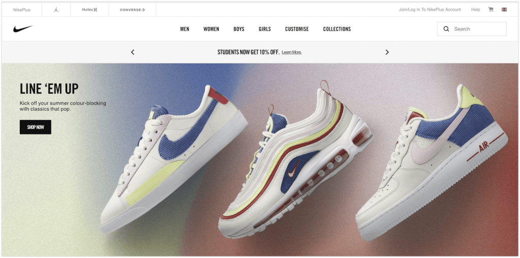 how to sell nike products as an affiliate