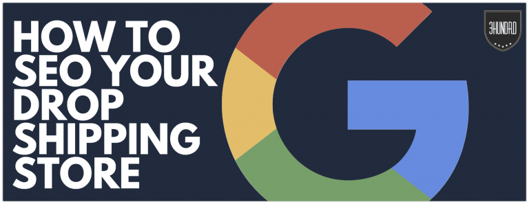 how to seo your dropshipping store