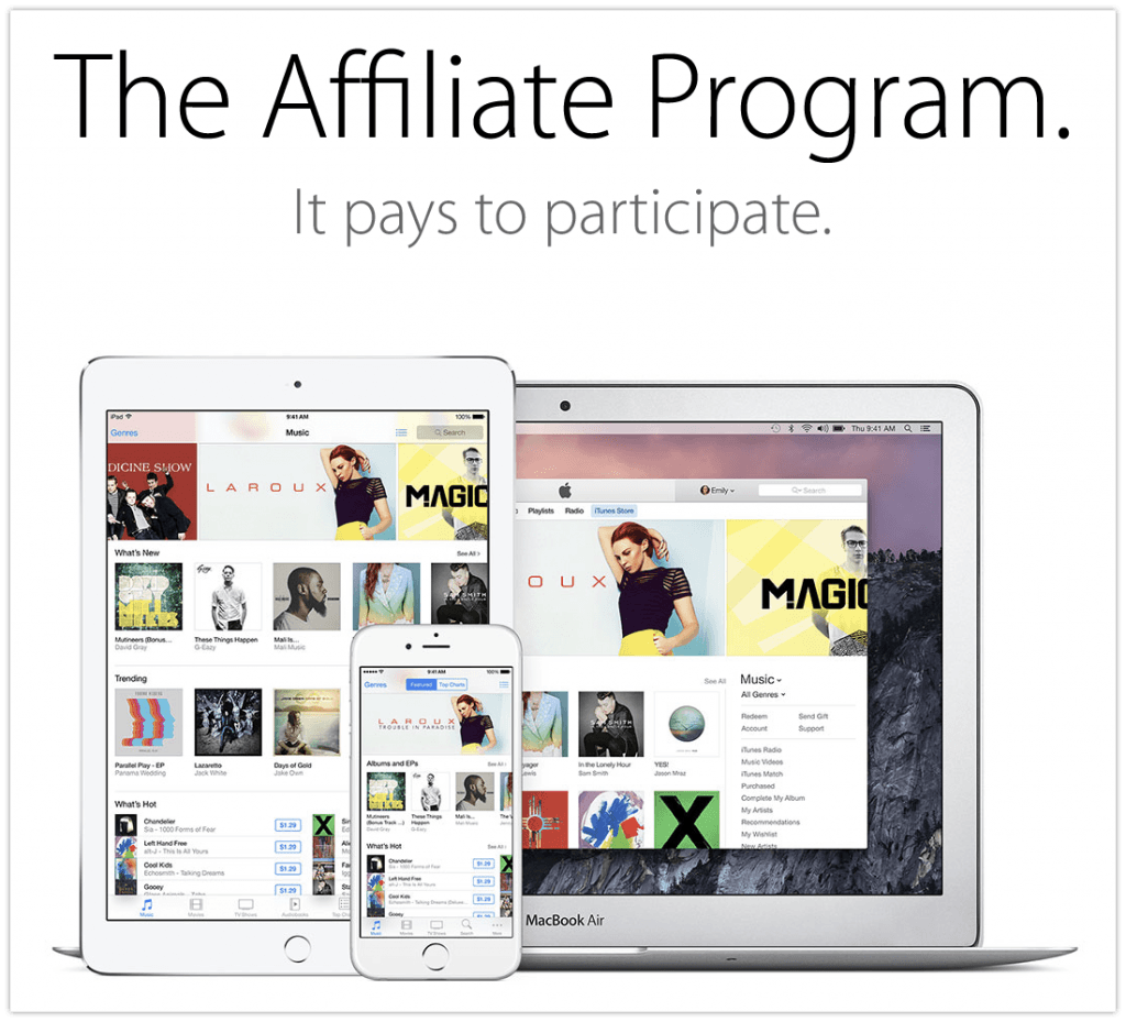 itunes affiliate program