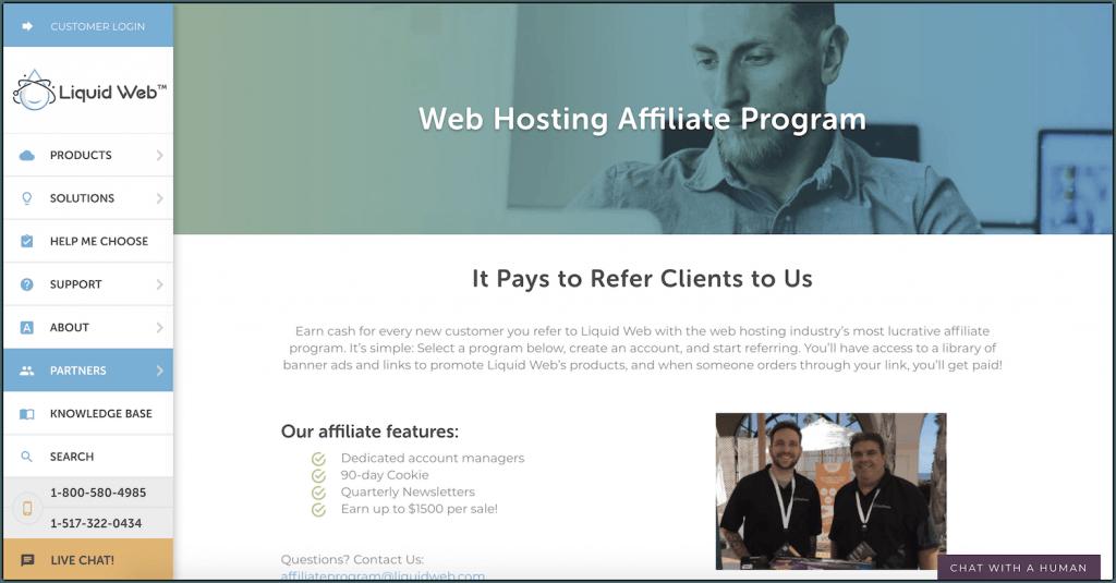 liquidweb affiliate program