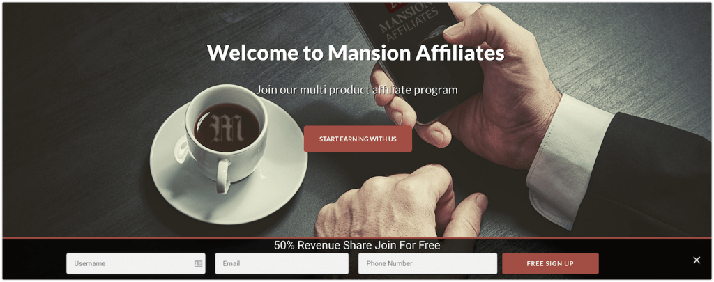 mansion casino affiliate program