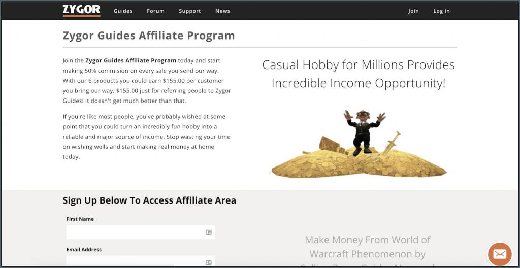zygor affiliate program