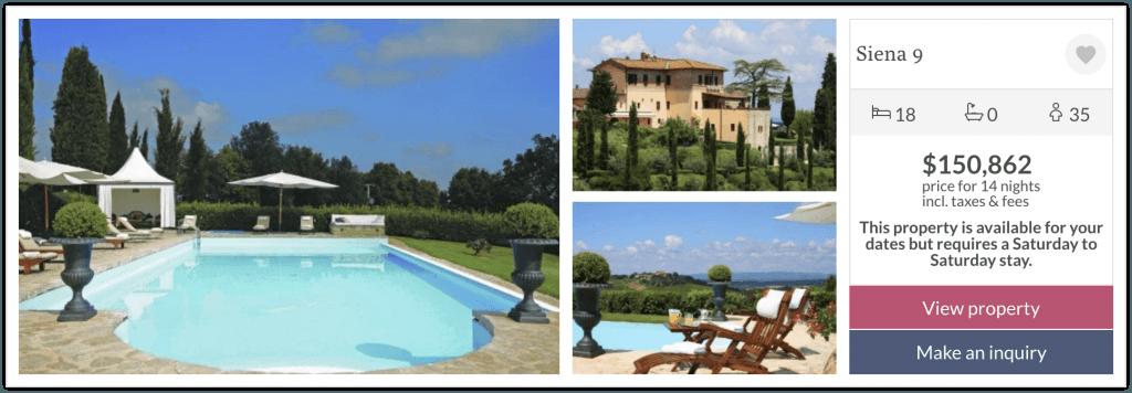 tuscany villas topvilla