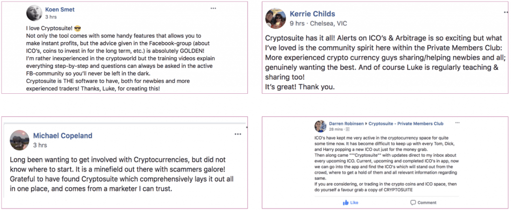 cryptosuite user reviews