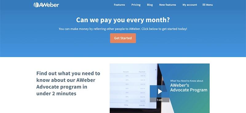 my aweber affiliate program review