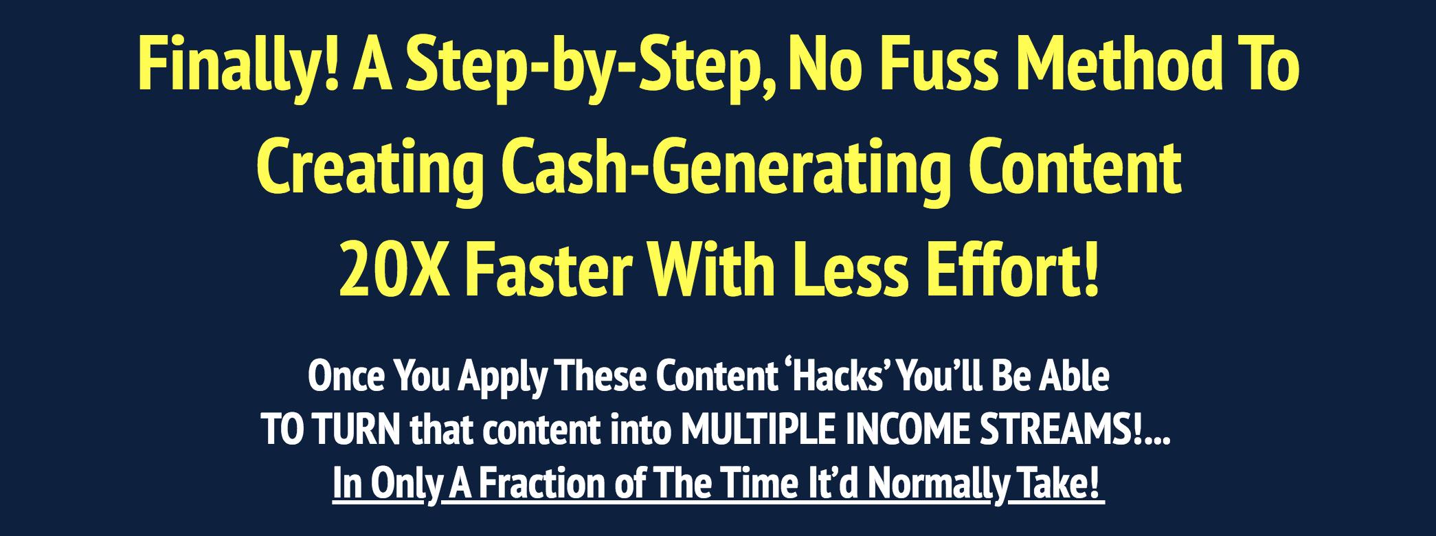 amy content profit hacks review
