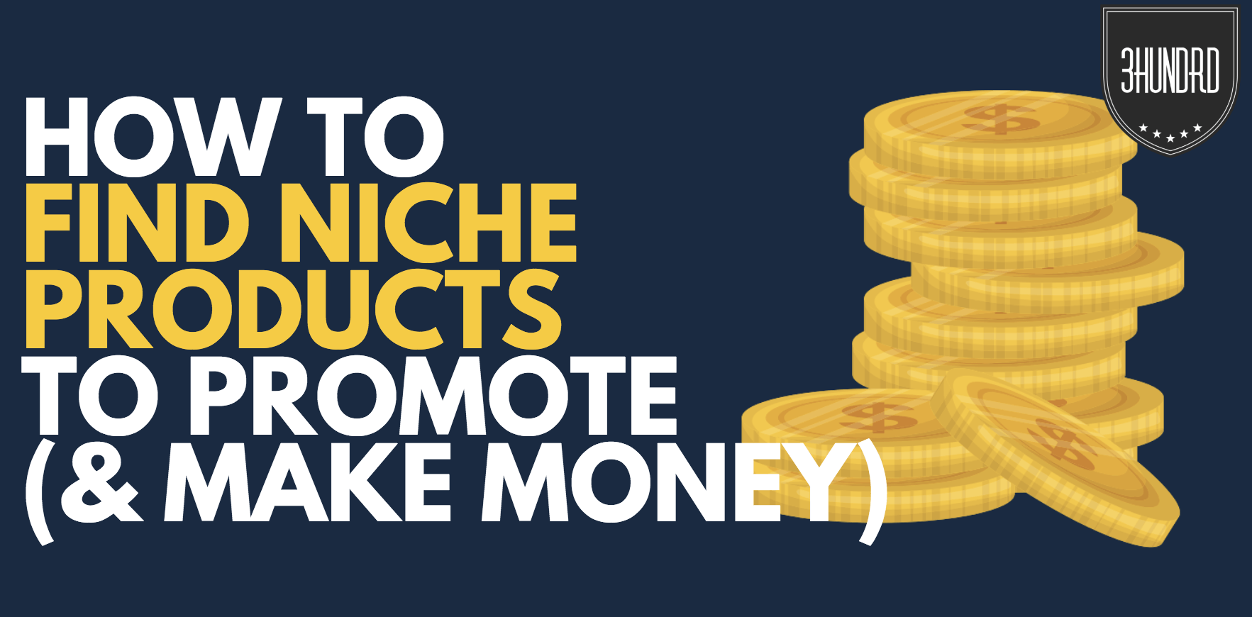 how to find niche products to promote
