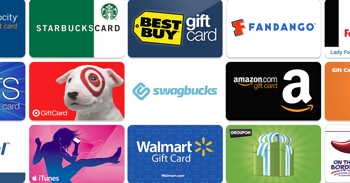 swagbucks gift cards
