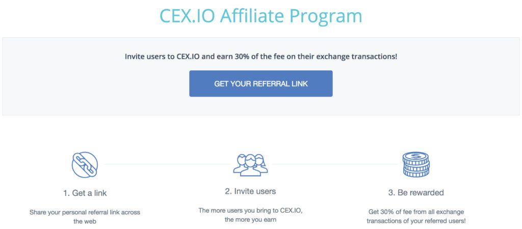 Cex.io affiliate program
