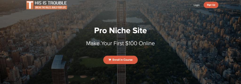 Kyle Trouble Pro Niche Site Review