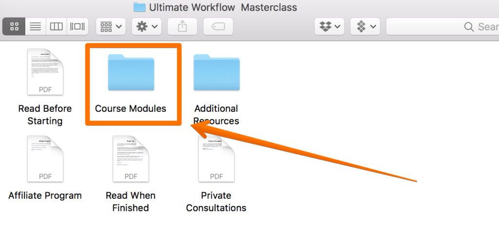 Ultimate Workflow Masterclass Modules