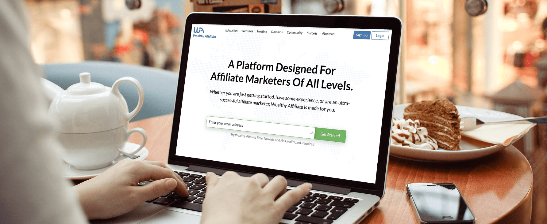 wealthy affiliate review desktop