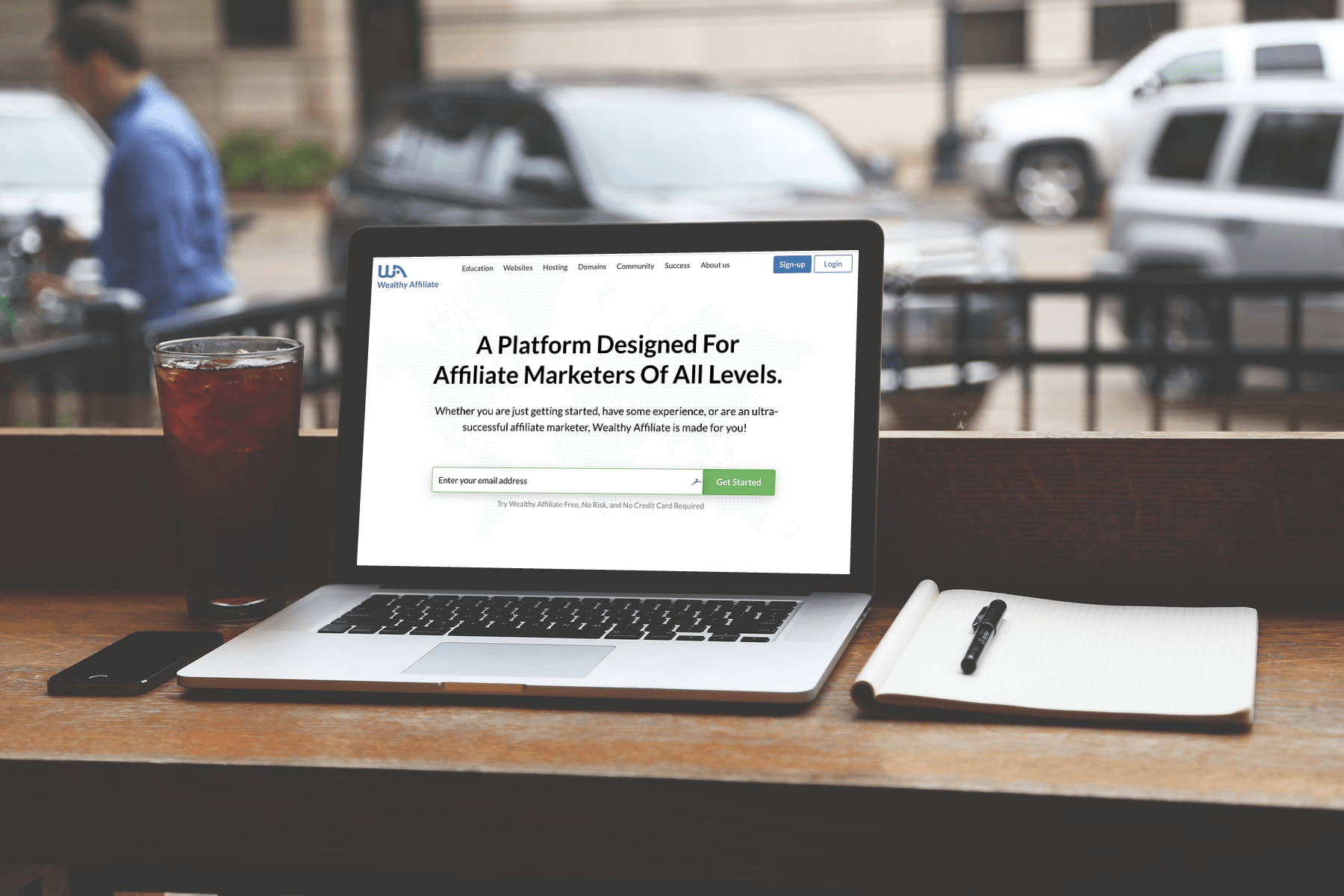 Wealthy Affiliate Review (Mockup)