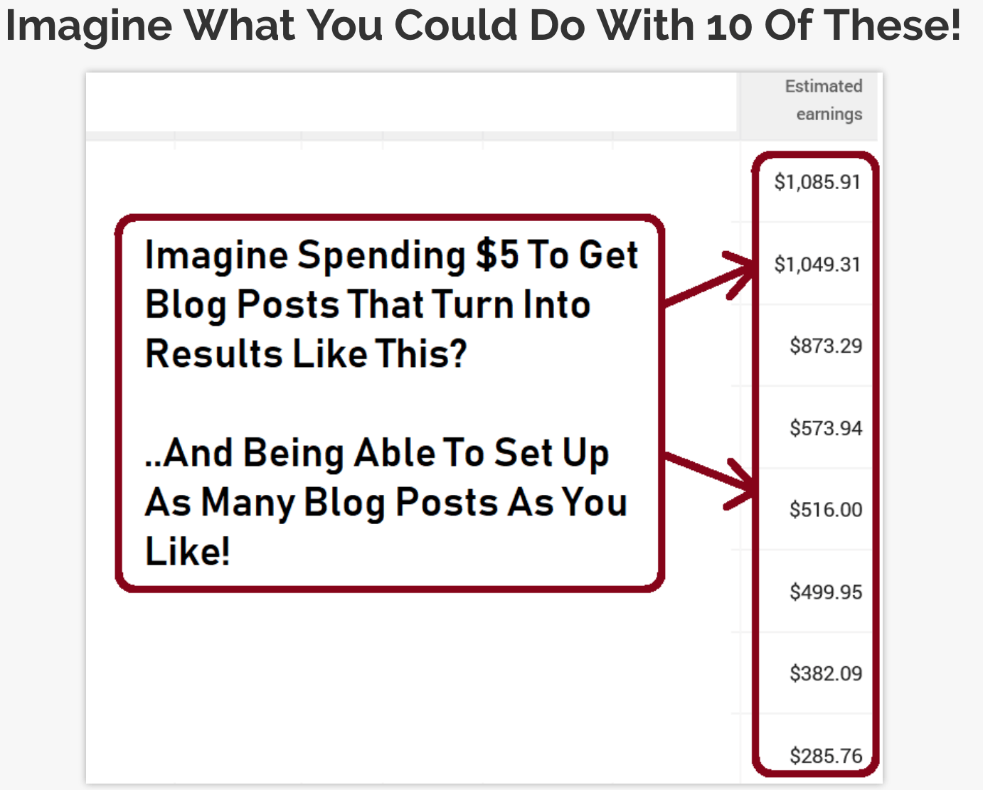 bloggii income proof
