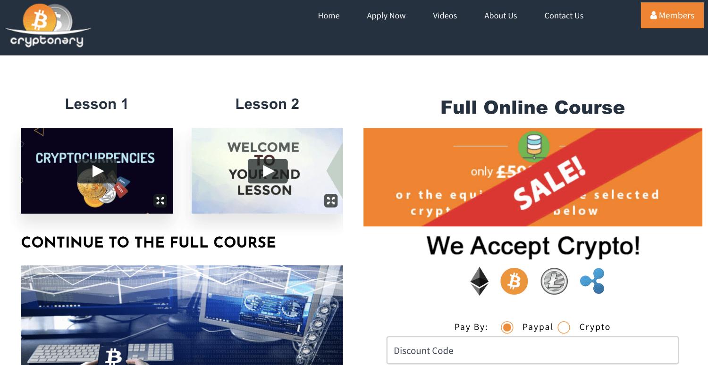 cryptonary course price