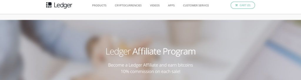 ledger nano affiliate program