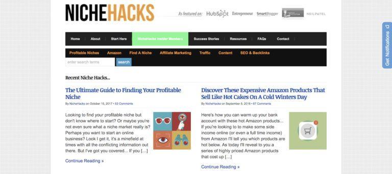 niche hacks membership site review