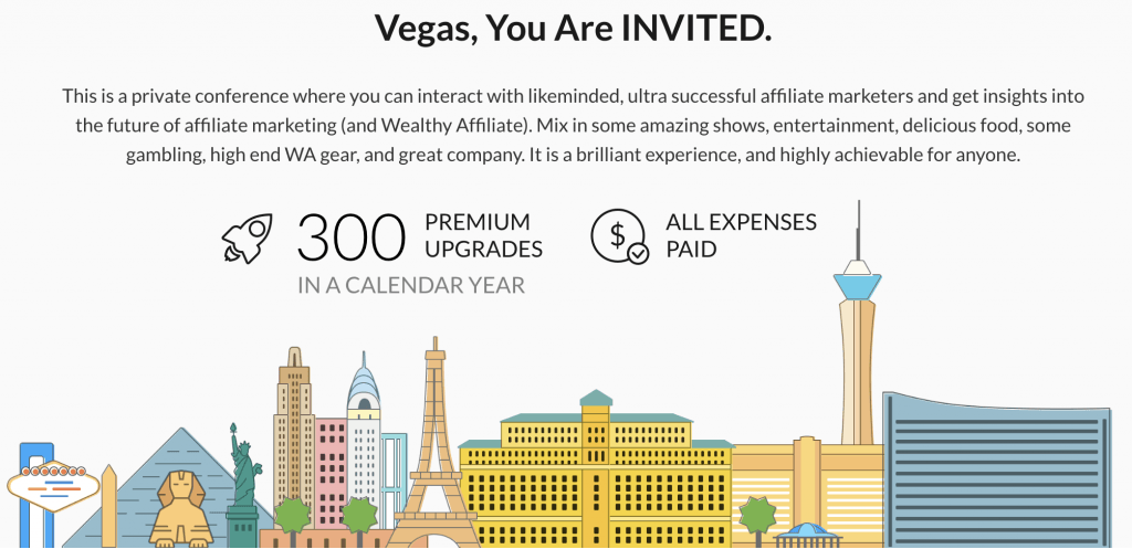 wealthy affiliate las vegas