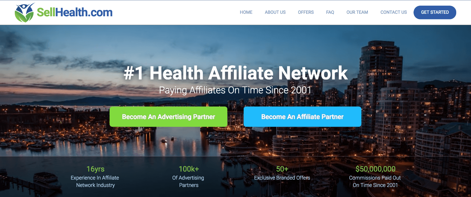 SellHealth Affiliate Network Review