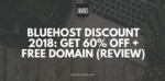 bluehost discount review