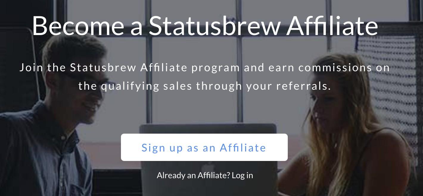 statusbrew affiliate program