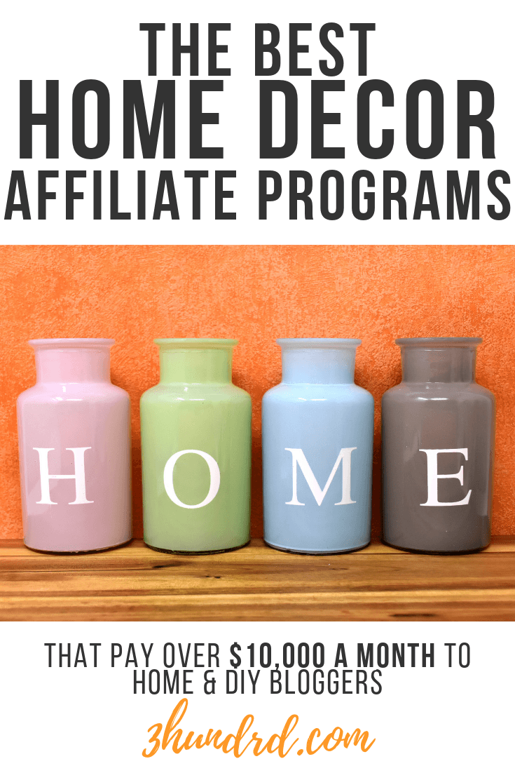 the best home decor affiliate programs