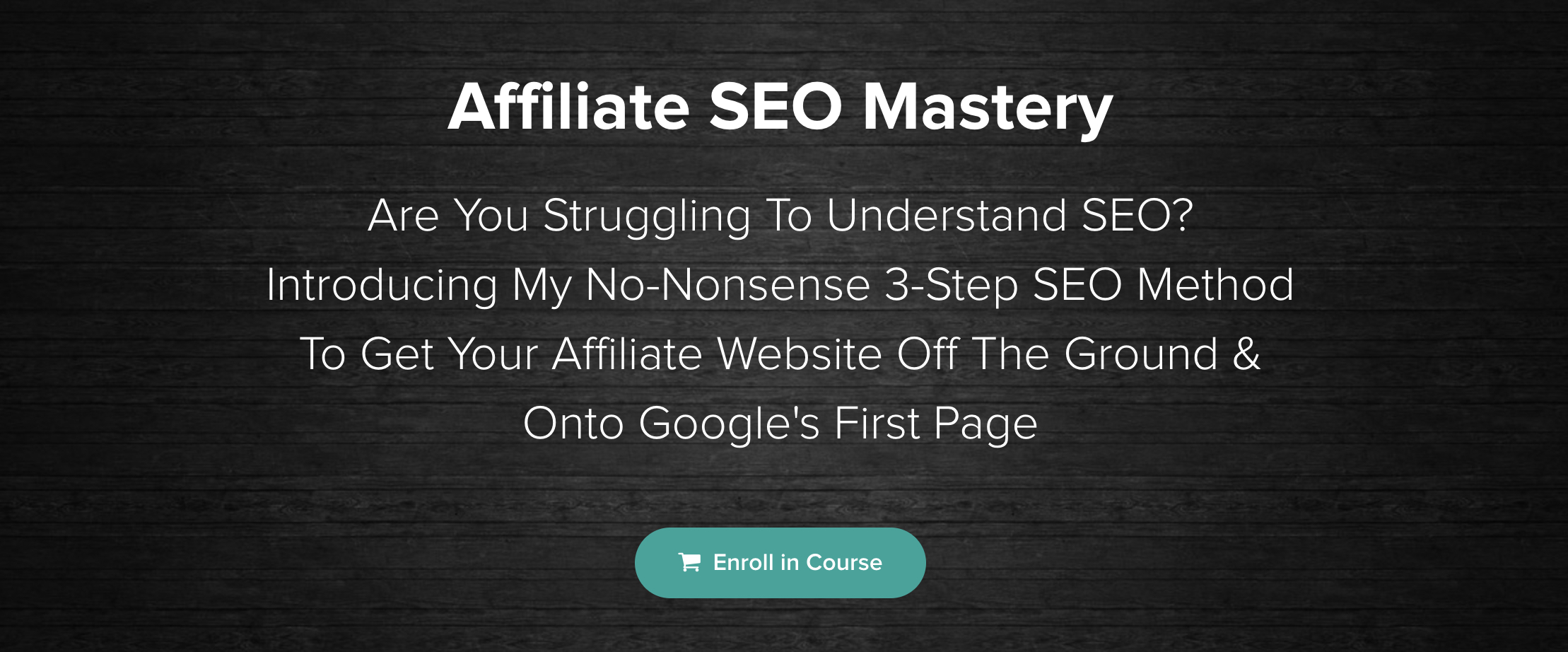 Affiliate SEO Mastery review