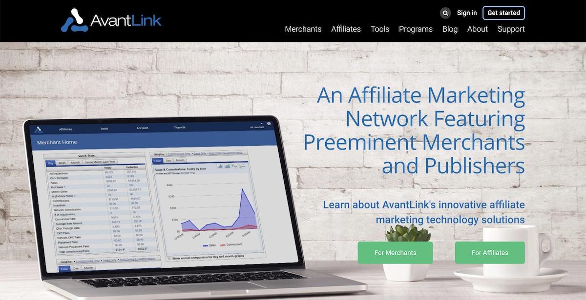 AvantLink affiliate program