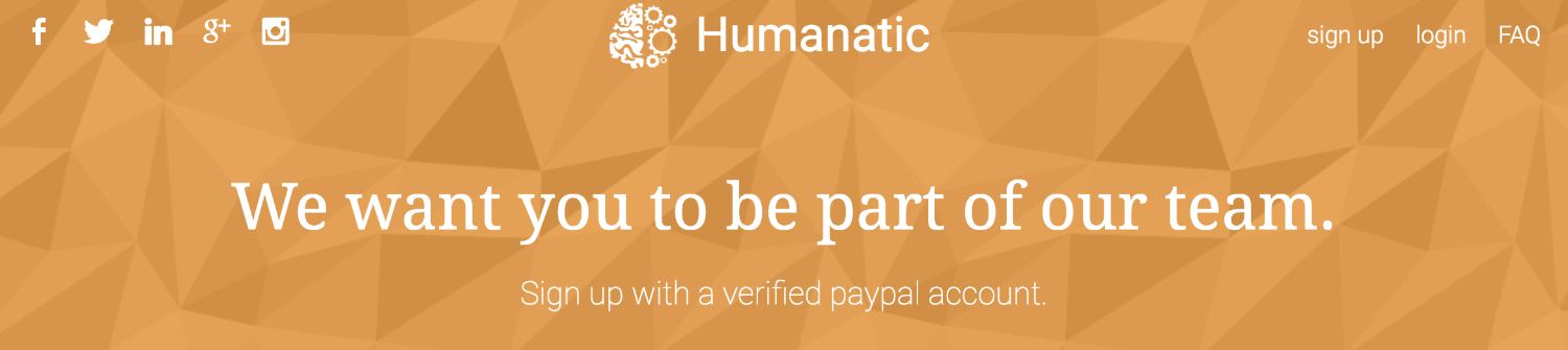 how to join humantic