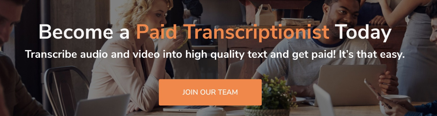 how to work for transcribeme