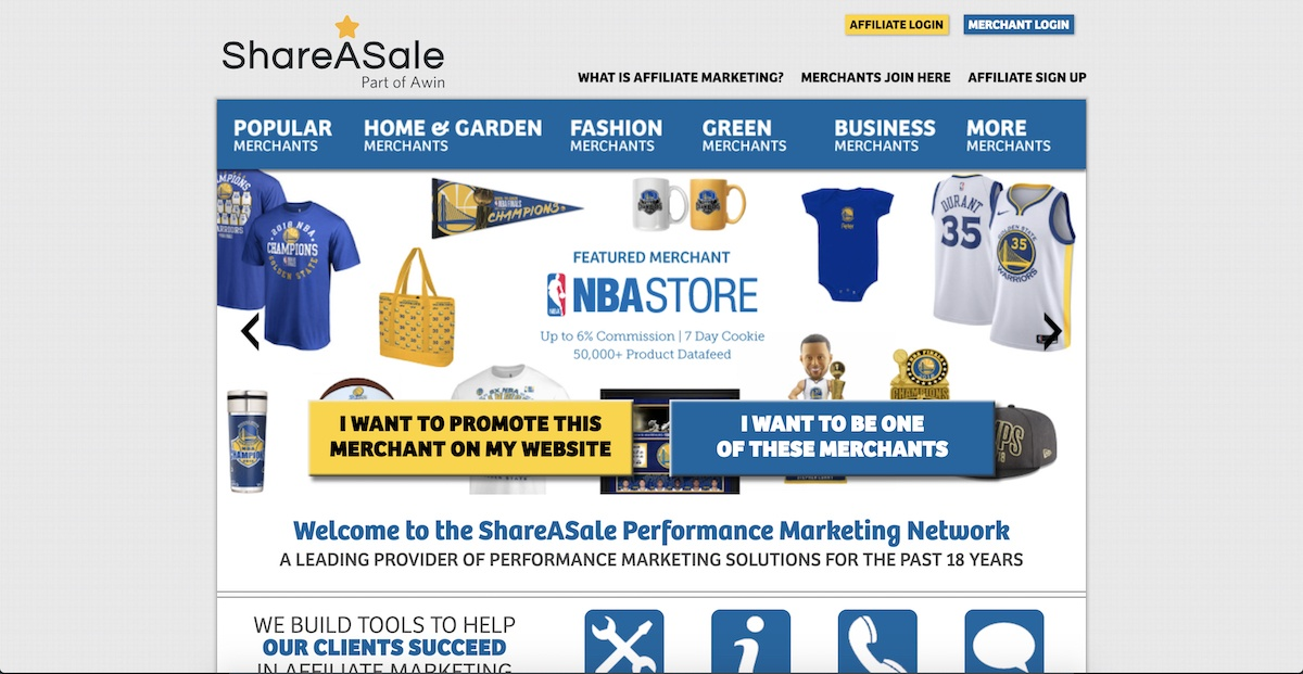 shareasale affiliate program