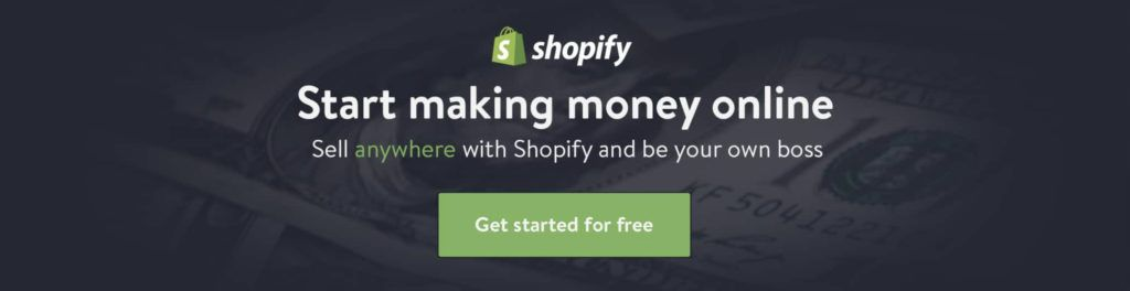 start dropshipping with shopify