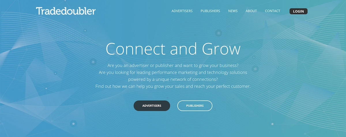 tradedoubler affiliate program