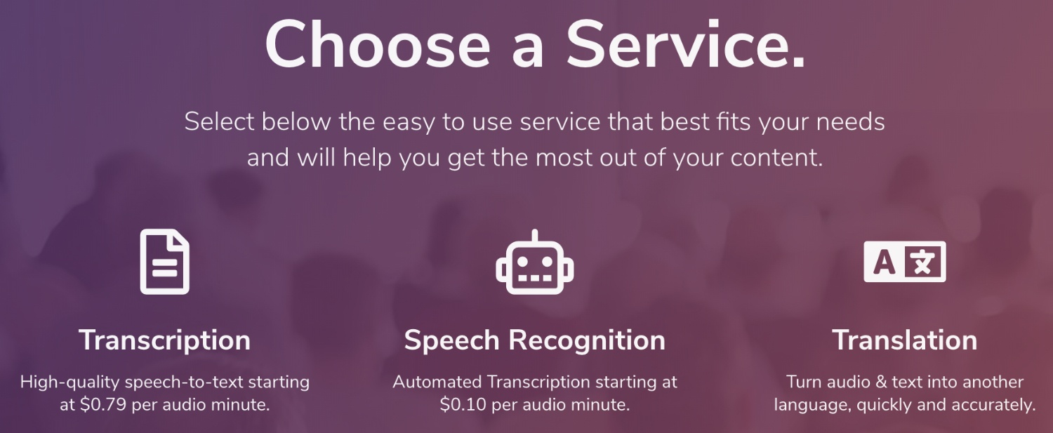 transcribeme services