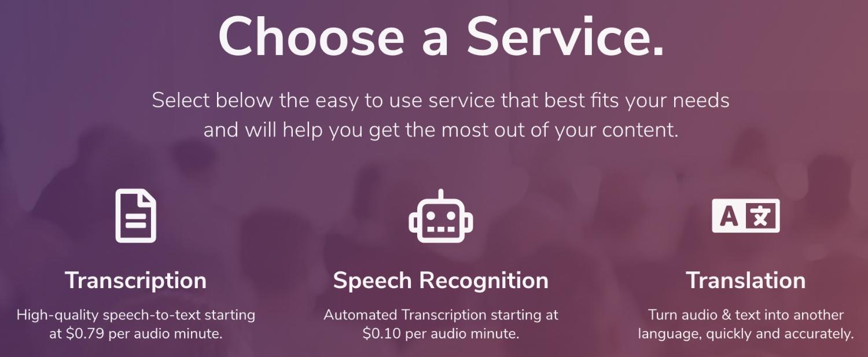 transcribeme services