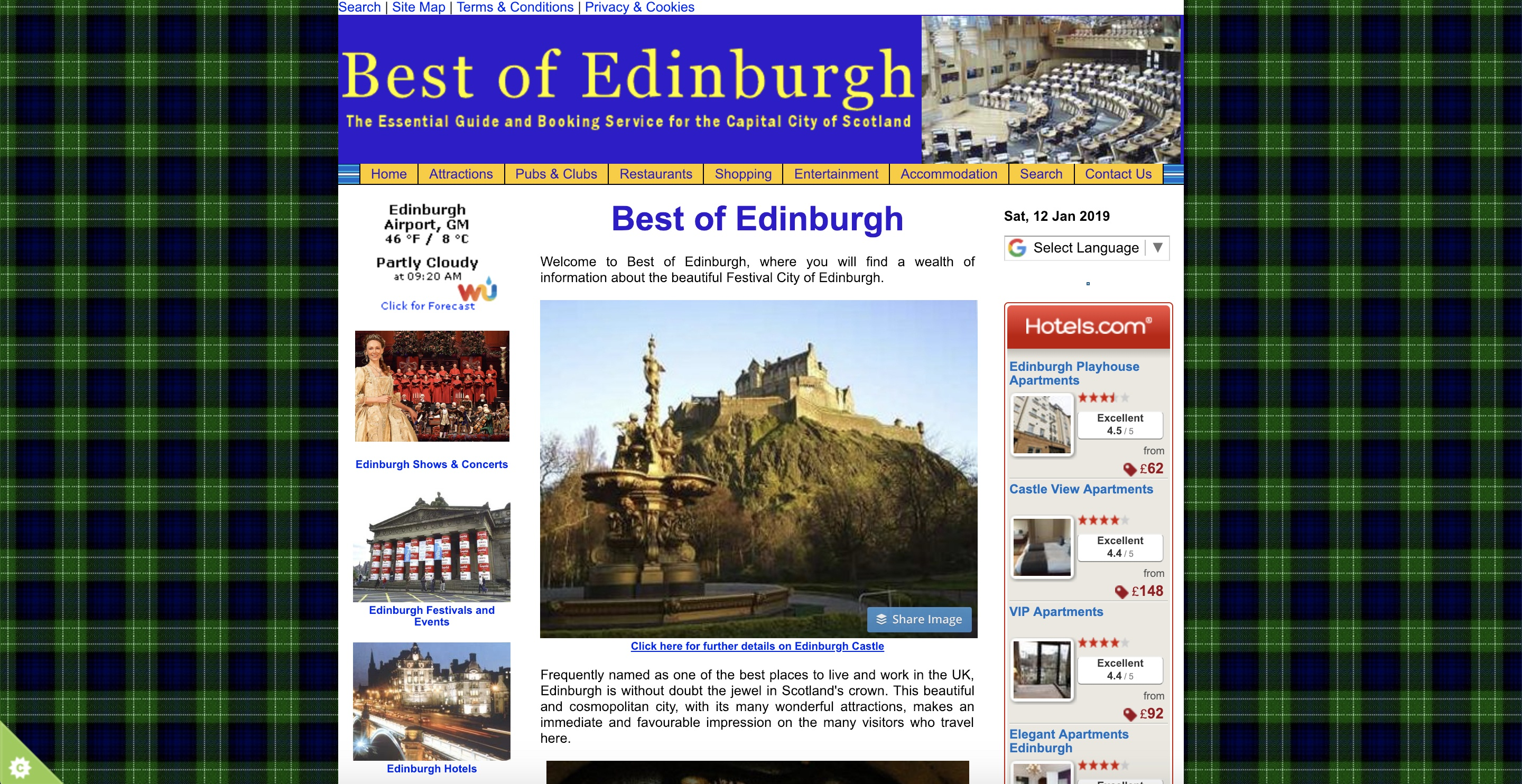 Best of Edinburgh Scotland
