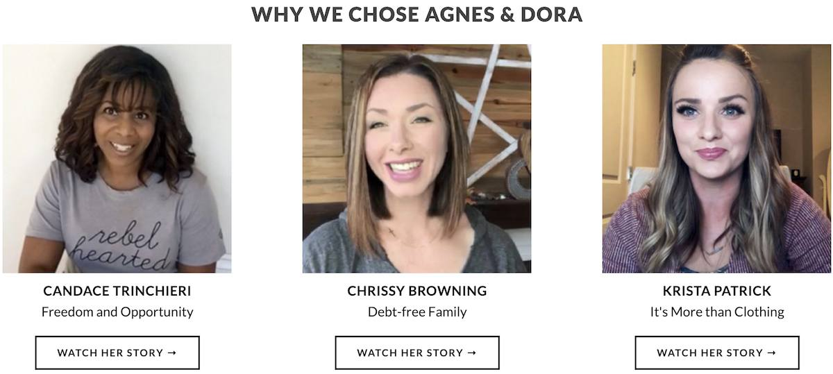 Can you make money with Agnes and Dora?